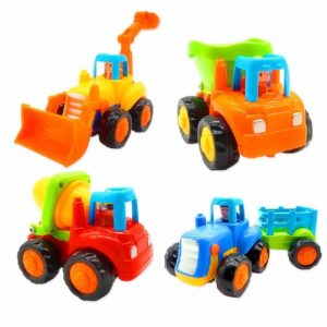 Push and Go Toy Trucks