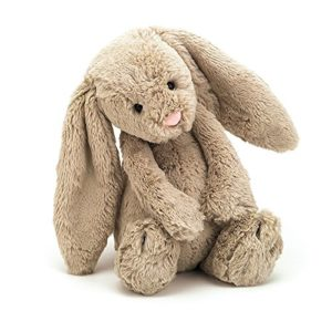 Beige Bunny Stuffed Animal
