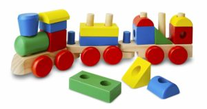 Stacking Train - Classic Wooden Toddler Toy
