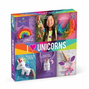 Magical Unicorns Fun Dough Create Your Own Unicorn Figures Kids Creative Set